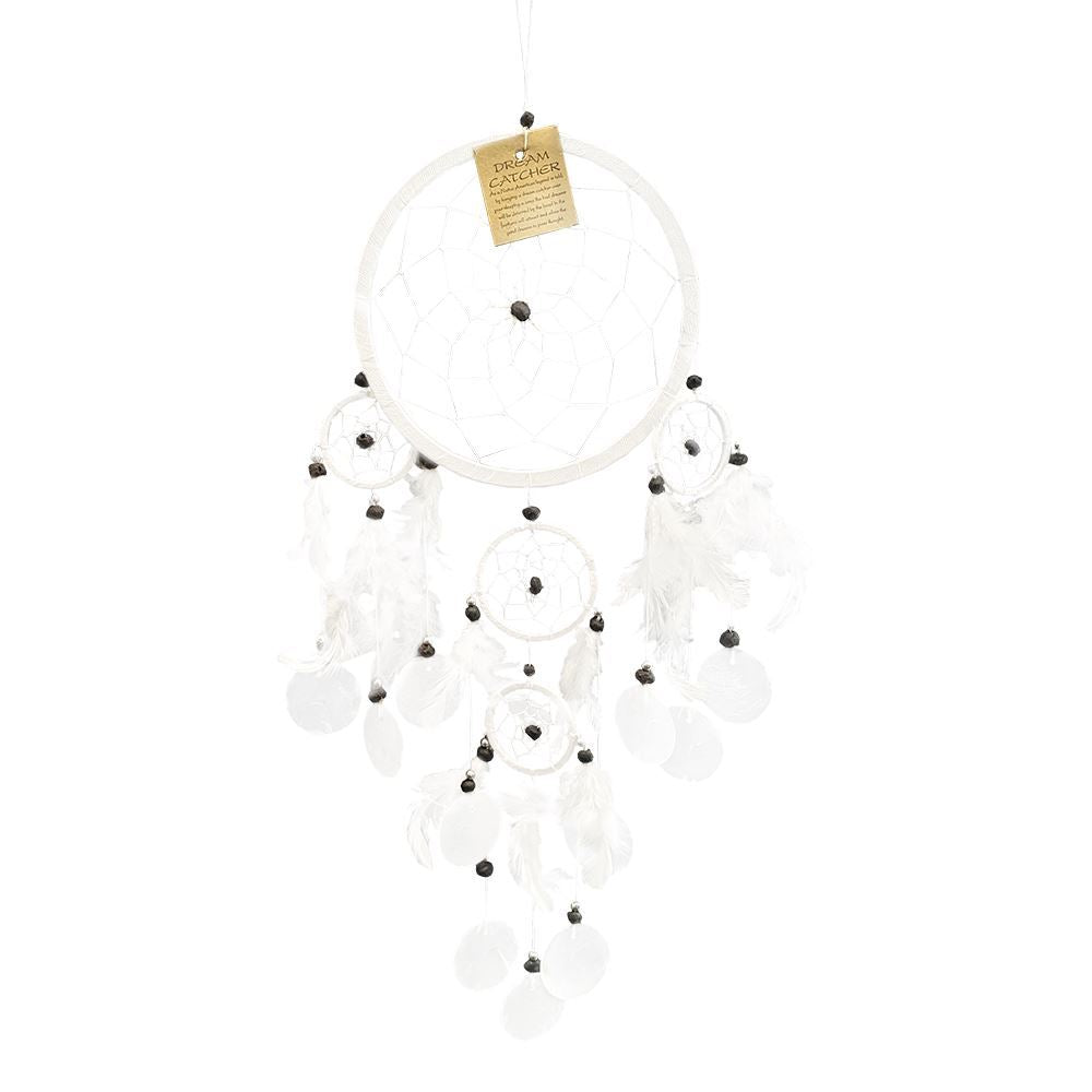 Vie Naturals Capiz Dream Catcher, 16cm