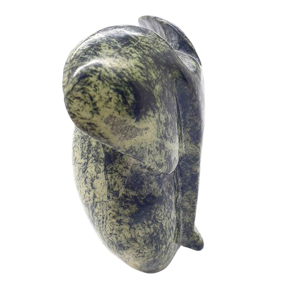 Vie Naturals Hand Carved Serpentine, Abstract Elephant, 11cm by  Global 1st