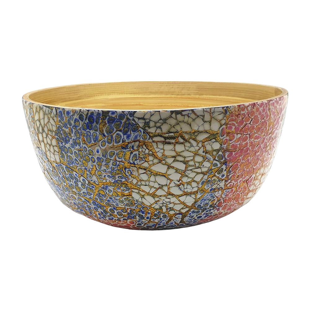 Vie Gourmet Bamboo Salad Bowl, 23x10cm by  Global 1st