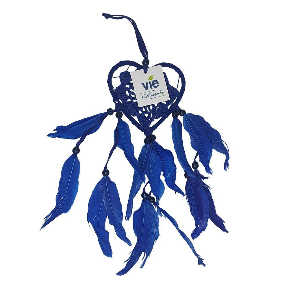 Vie Naturals Heart Shaped Dream Catcher, 9cm