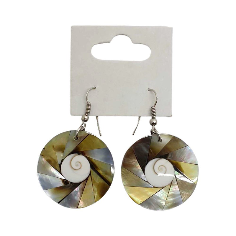 Vie Naturals Gold Seashell Earring