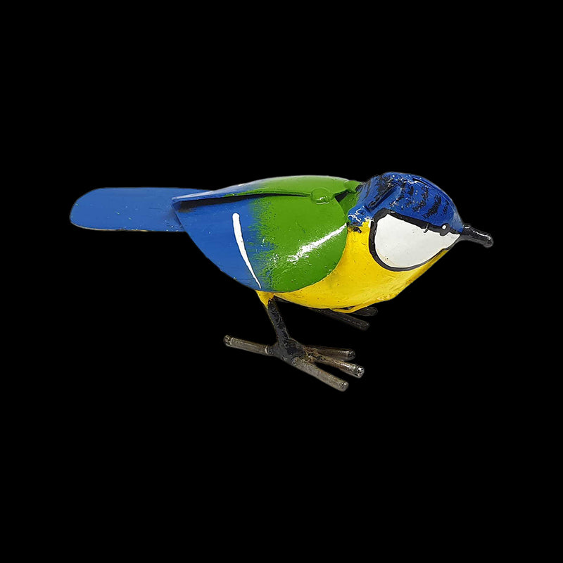 Vie Naturals Small Recycled Metal Bird Sculpture, Swallow