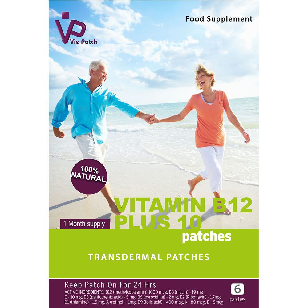 Vie Healthcare Vitamin B12 Plus 10 Patches