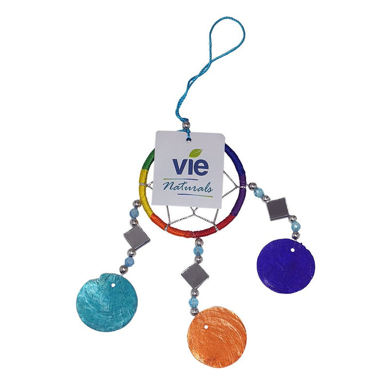 Vie Naturals Capiz Dream Catcher, No Feathers, 6cm