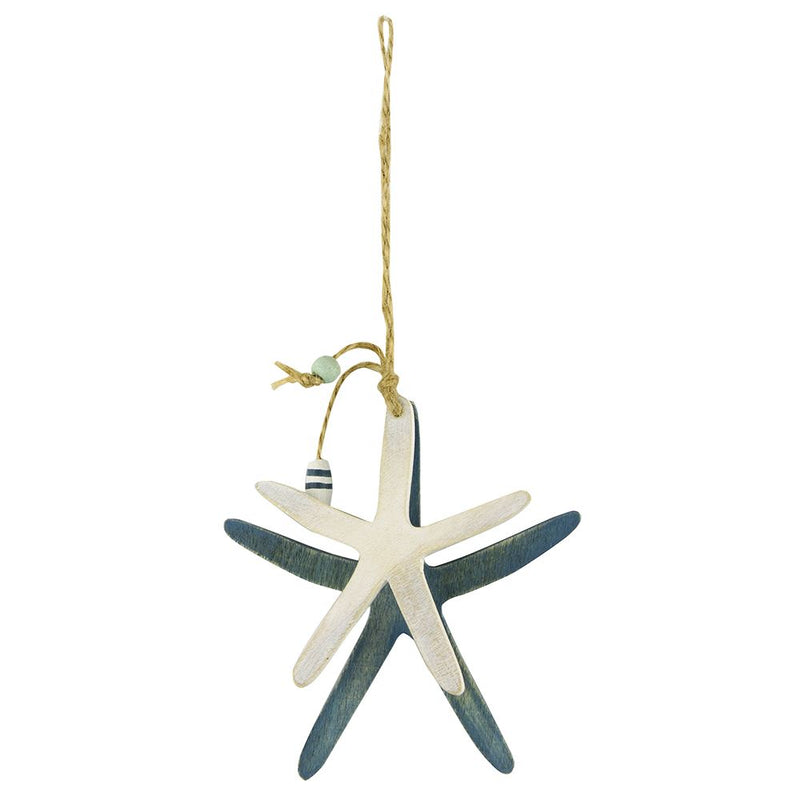 Vie Naturals Starfish Hanging D�cor, Two Starfish, 10cm