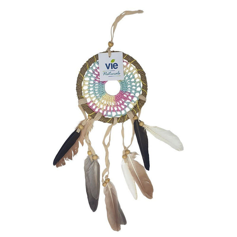 Vie Naturals Crochet Dream Catcher, 12cm