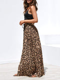 Valuedshoes Leopard Printed Casual Long Skirt