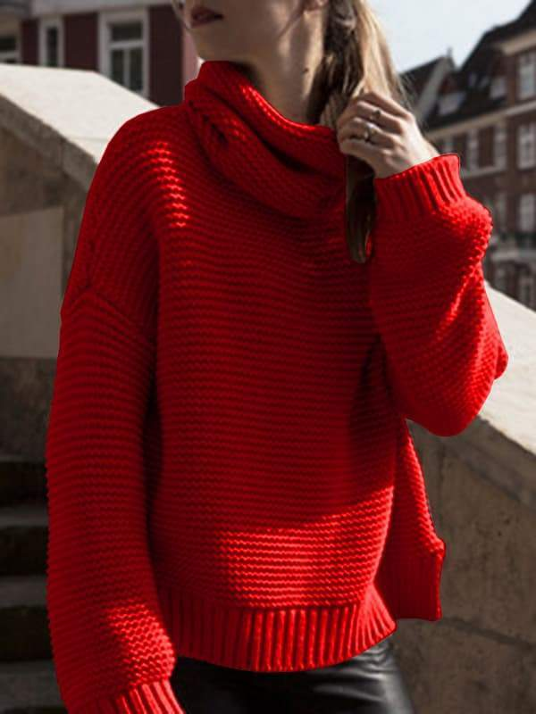 Valuedshoes New Cable Knit Pullover Sweaters