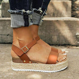 Valuedshoes Summer Espadrille Platform Sandals