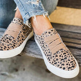 Valuedshoes Women Latte Spots Slip on Sneakers