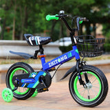 Valuedshoes Kids' Mountain Bike 12/14/16/18 inch Boys and Girls with High Carbon Steel Frame