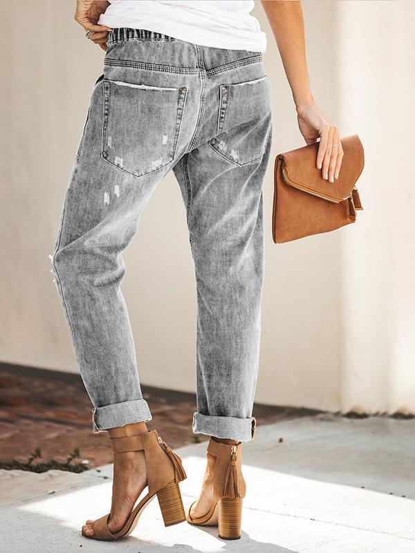 Valuedshoes  Casual Straight Jeans