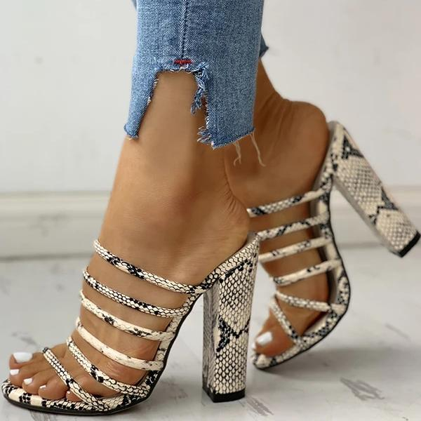 Valuedshoes Snakeskin High Heels