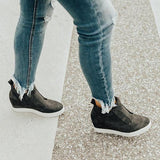 Valuedshoes Fashion Stylish Daily Wedge Sneakers