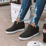 Valuedshoes Fashion Wedge Heel Sneakers