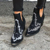 Valuedshoes Women Dream Embroidery Boots
