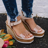 Valuedshoes Women Fashion Wedge Sandals