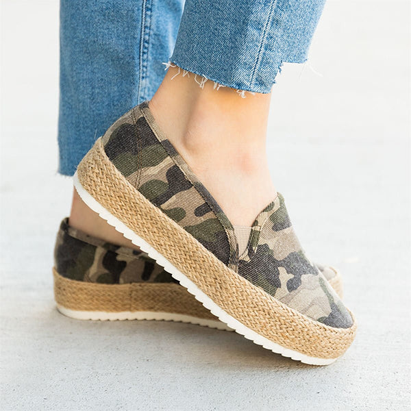 Valuedshoes Perfect Espadrille Platform Sneakers
