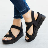 Valuedshoes Gorgeous Strappy Wedge Sandals