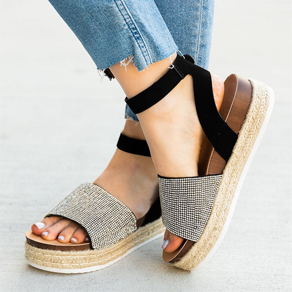 Valuedshoes Women Gorgeous Espadrille Sandals