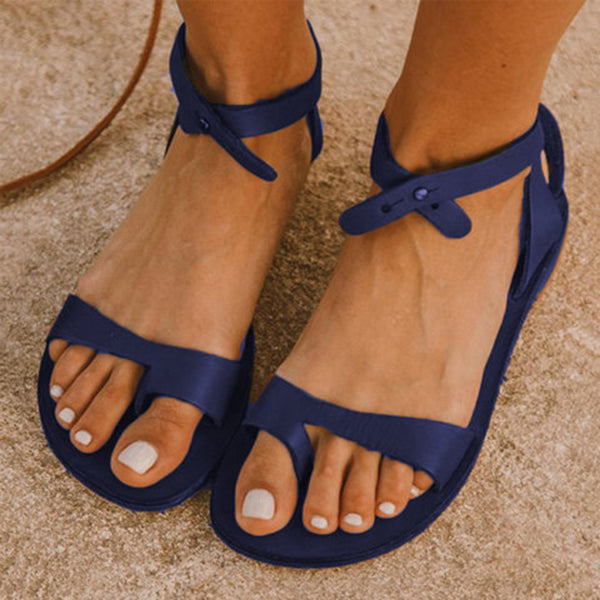 Valuedshoes Simple Buckle Comfortable Sandals