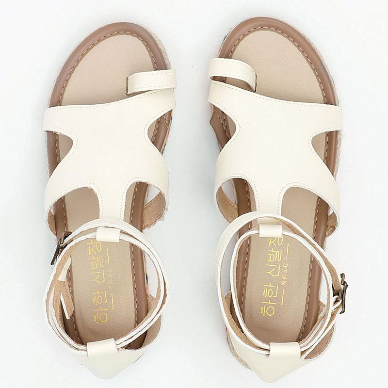Valuedshoes Flat With Flip-flops Beach Sandals