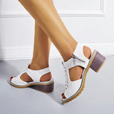 Valuedshoes Women Slingbacks Heels Chunky Heel Sandals