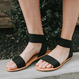 Valuedshoes Women Black Waterfront Sandals