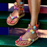 Valuedshoes Bohemian Chic Flat Sandals