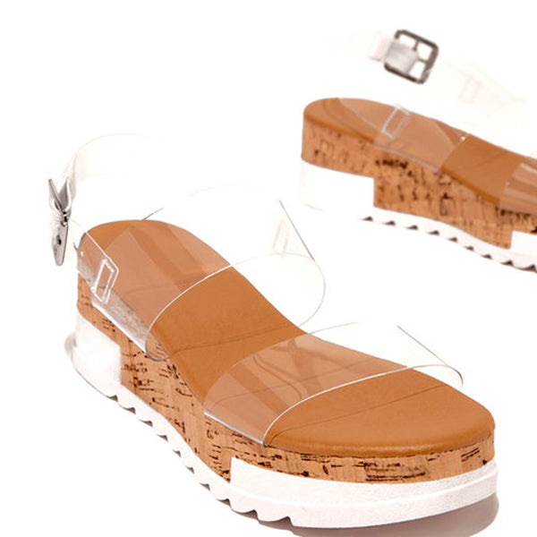 Valuedshoes Summer Dress Block Heel Sandals