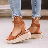 Valuedshoes Women Casual Wedge Chic Sandals