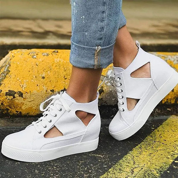 Valuedshoes Women Comfortable Flat Casual Sneakers