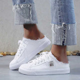 Valuedshoes Canvas Lace-Up Daily Summer Sneakers