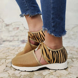Valuedshoes Women Lace-Up Hollow-Out Sneakers