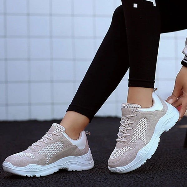 Valuedshoes Women Lace-Up Sneakers