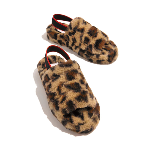 Valuedshoes Women Faux Fur Slippers