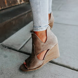 Valuedshoes Women Casual Open Toe Wedges Sandals