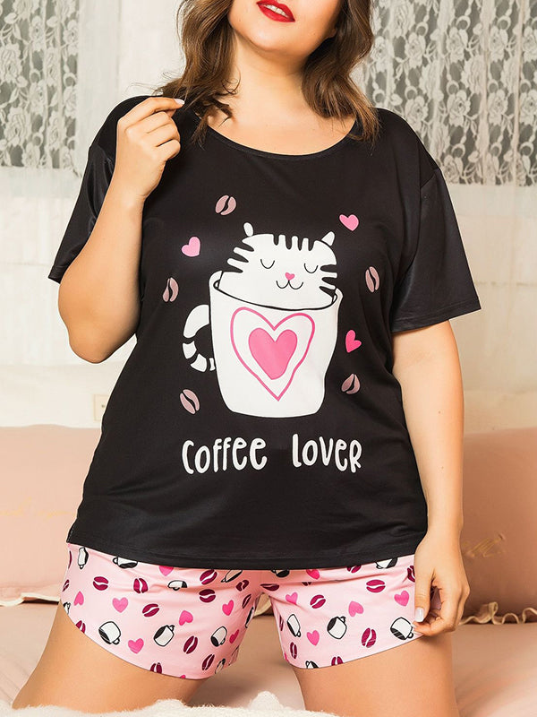Valuedshoes Large Size Ladies Animal Cotton Set