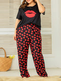 Valuedshoes Cute Printed Loose Set