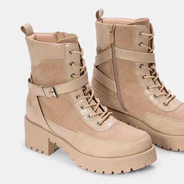 Valuedshoes Women Comfy Platform Casual Boots