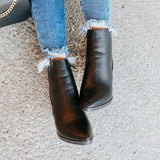 Valuedshoes Women Faux Leather Booties