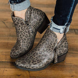 Valuedshoes Women Wink Faux Suede Booties