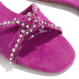 Valuedshoes Eyes For You Glittering Bowknot Slippers