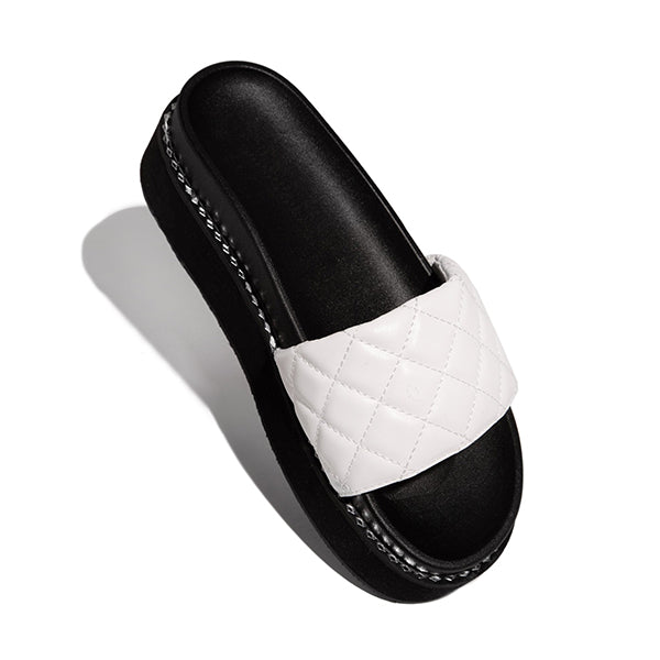 Valuedshoes Walk The City Open Toe Flat Slippers