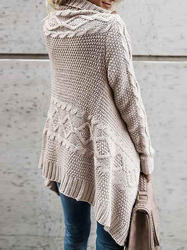 Valuedshoes Coat Fashion Knitted Sweater Cardigan