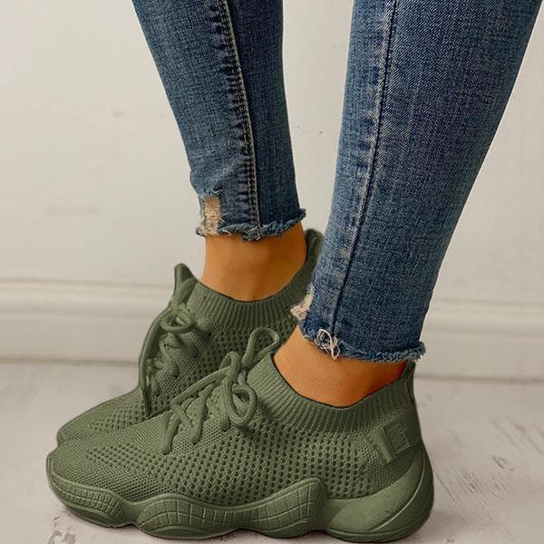 Valuedshoes Net Surface Breathable Non-Slip Sneakers