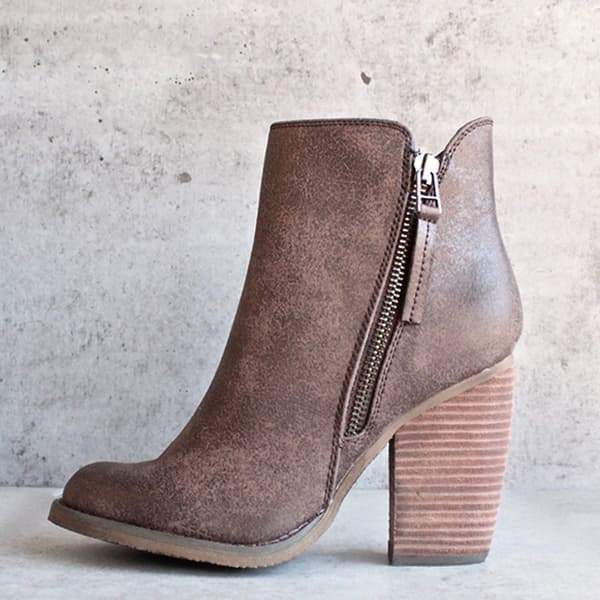 Valuedshoes Women Fashion Chunky Boots