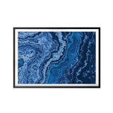 Abstract Oceans UNFRAMED Print Abstract Wall Art