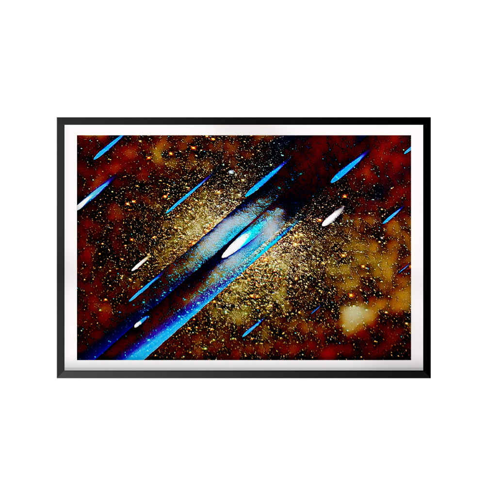 Shooting Stars UNFRAMED Print Space Wall Art