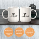 The Ladyship / The Lordship (2 Pack) Coffee Mug